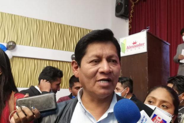 Abel Mamani confirma que pugnará por la candidatura del MAS a la Alcaldía  de El Alto   Erbol