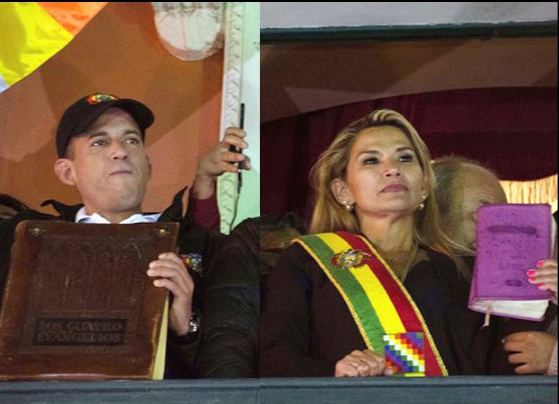 Denuncian a Camacho y Añez por terrorismo y piden su extradición | Erbol