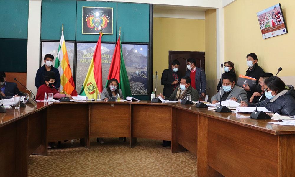 Concejo de El Alto aprueba ley de la 'Rebajita Tributaria'