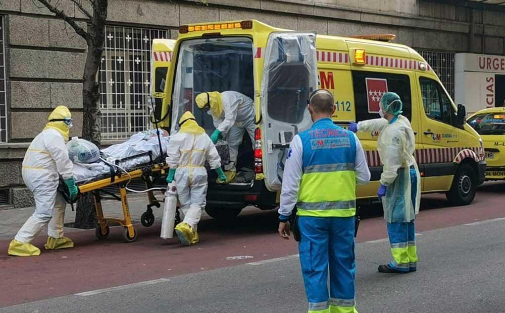España llegó a 3434 muertos por coronavirus y superó a China