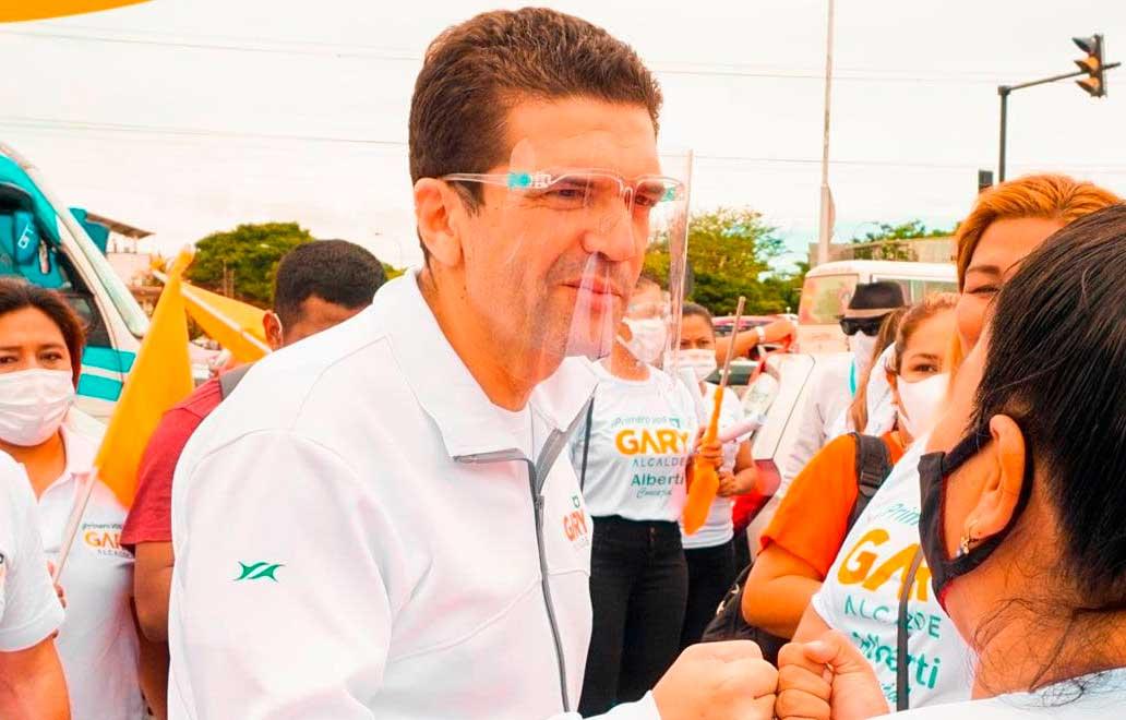 TSE habilita a Gary Añez como candidato a la alcaldía de Santa Cruz