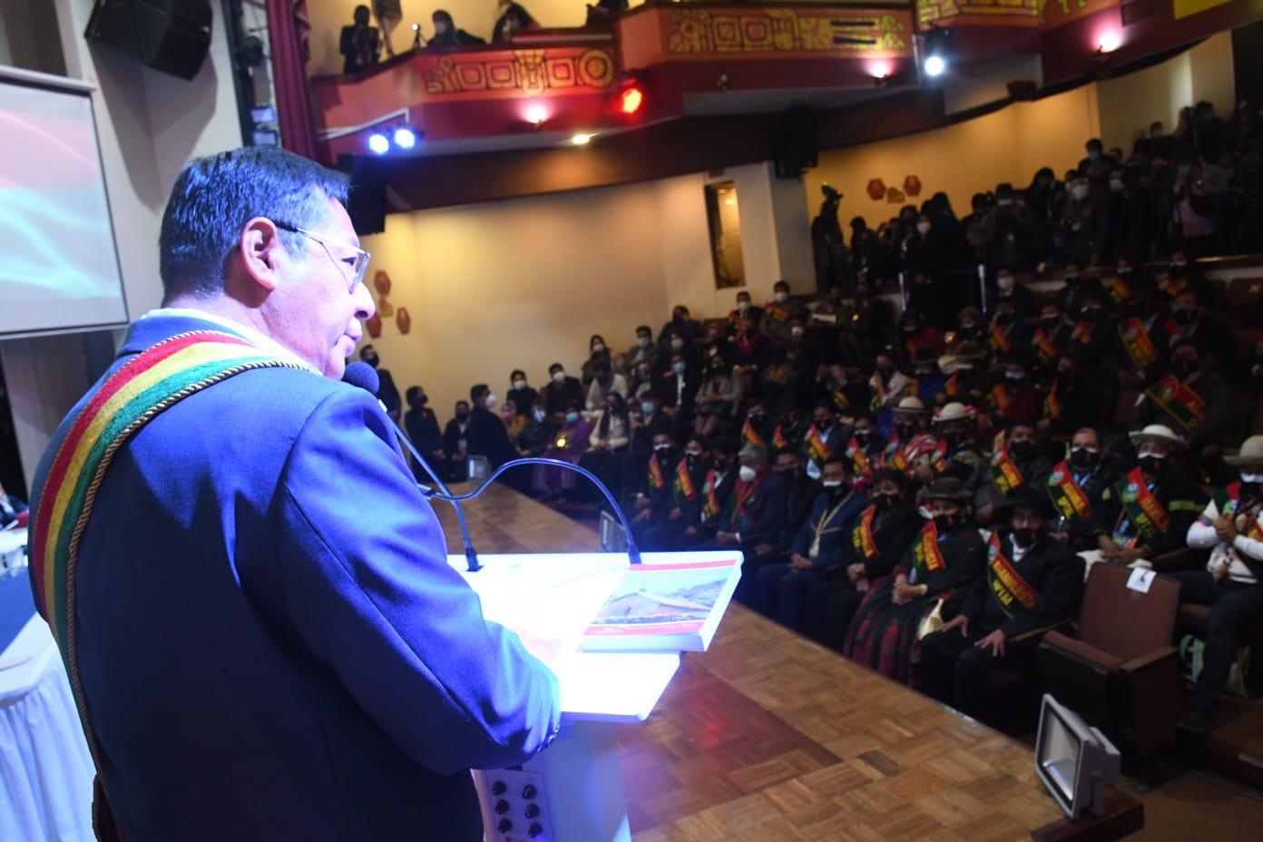 Arce dice que hoy 'la verdad sale a la luz' y que el 'golpe de Estado' contó con un 'decidido apoyo' internacional