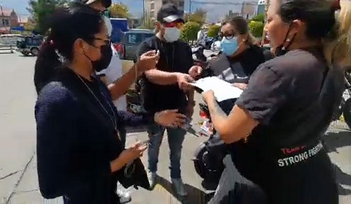 Aprehenden a Milena Soto de la Resistencia Juvenil Cochala