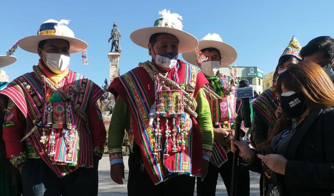 Autoridad de los ayllus del Norte Potosí defiende a su diputado y considera que hubo discriminación