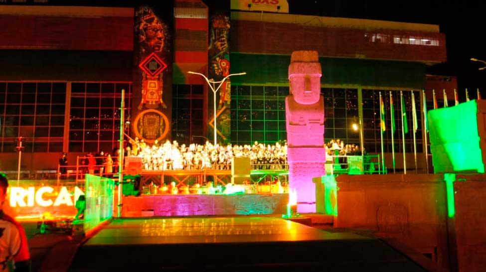 A horas de su inauguración, roban vidrios templados de la plaza Tejada Sorzano en La Paz
