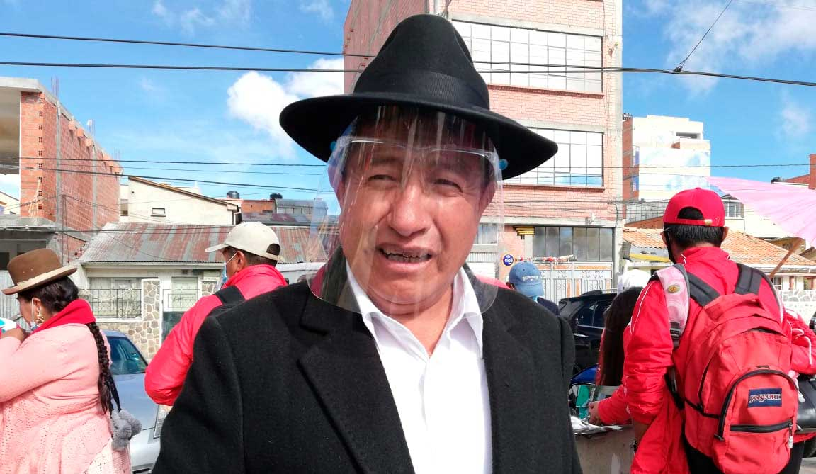 'Tata' Quispe dice que nombramiento de Huanca es 'premio' por hacerlo sentenciar
